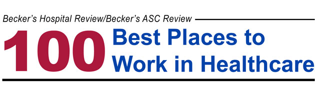 100 Best Places to Work in Healthcare - 2010