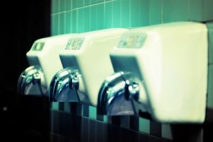 Paper towels are more effective than electric hand dryers for removing bacteria.