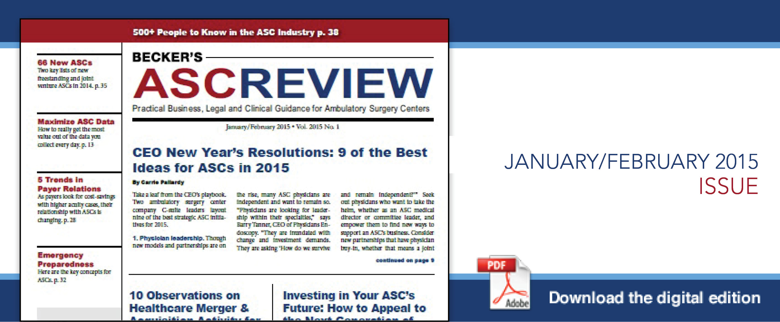 Jan Feb ASC 2015 Current Issue