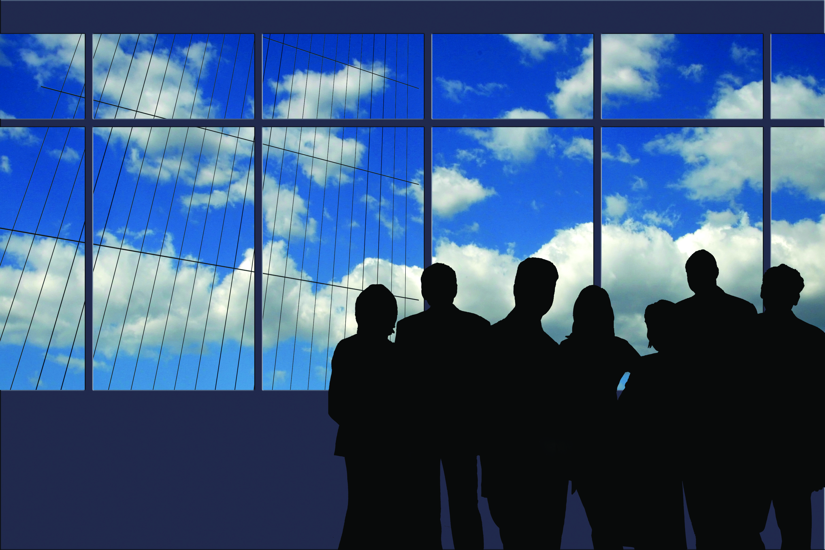 bigstock-A-Business-Team-silhouette-nex-26212253
