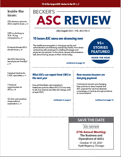 July August 2021 ASC Cover